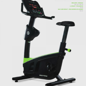 BODYTONE SPAIN UPRIGHT BIKE EVOLUTION EVOU2